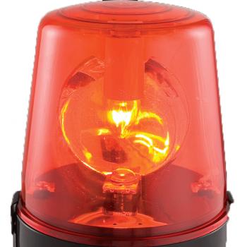 Boost Sirena Roja Policía 220V