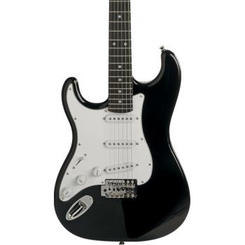 Eko S300 Black Guitarra Eléctrica para Zurdos
