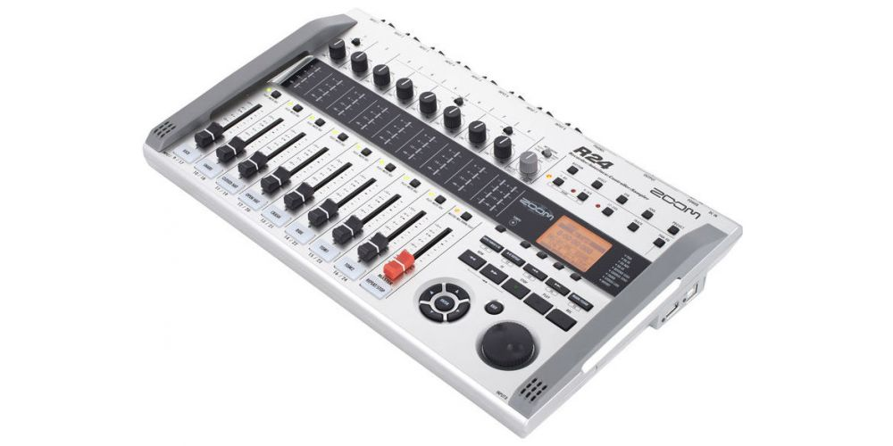 ZOOM R24 Equipo Grabador, Interface, Sampler. Grabadora 8 Pistas