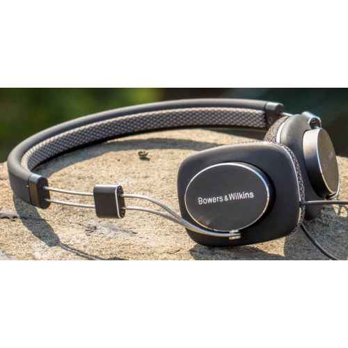 B W P3b auriculares bower negro