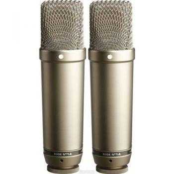RODE NT-1AMP Pareja de Microfonos de Estudio de Condensador