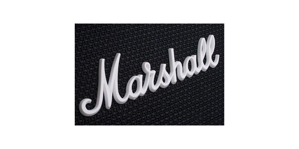 pantalla marshall mx112 logo