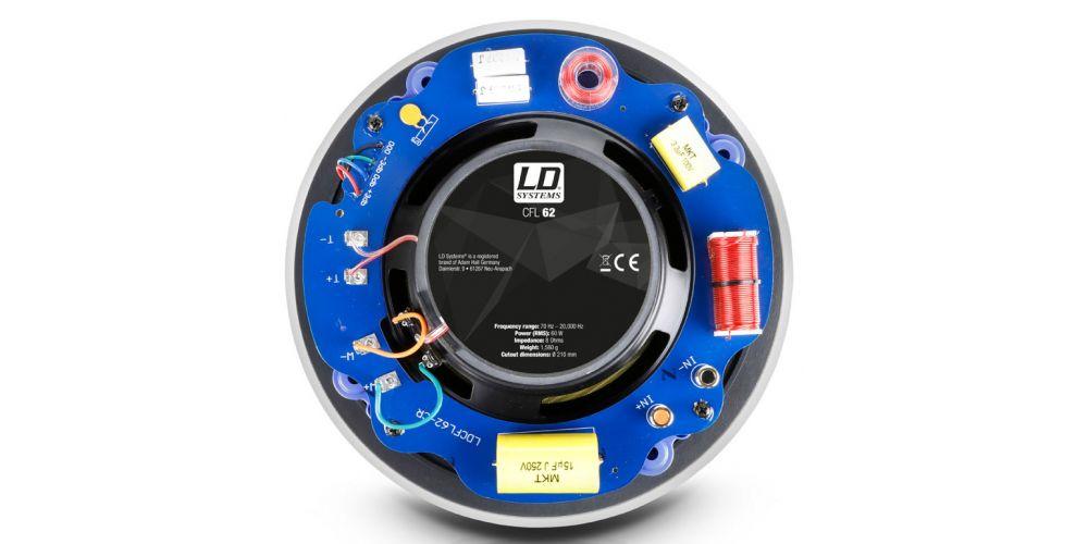 trasera altavoz CFL62