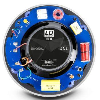 LD SYSTEMS Contractor FL 62 Altavoz empotrable sin marco de 6,5