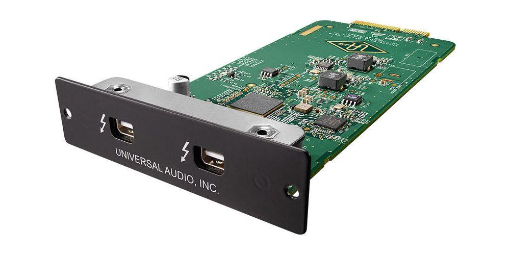 universal audio thunderbolt ii card mac