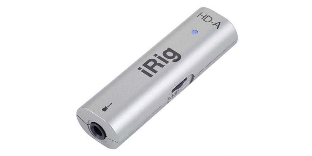 irig hd a control conexion
