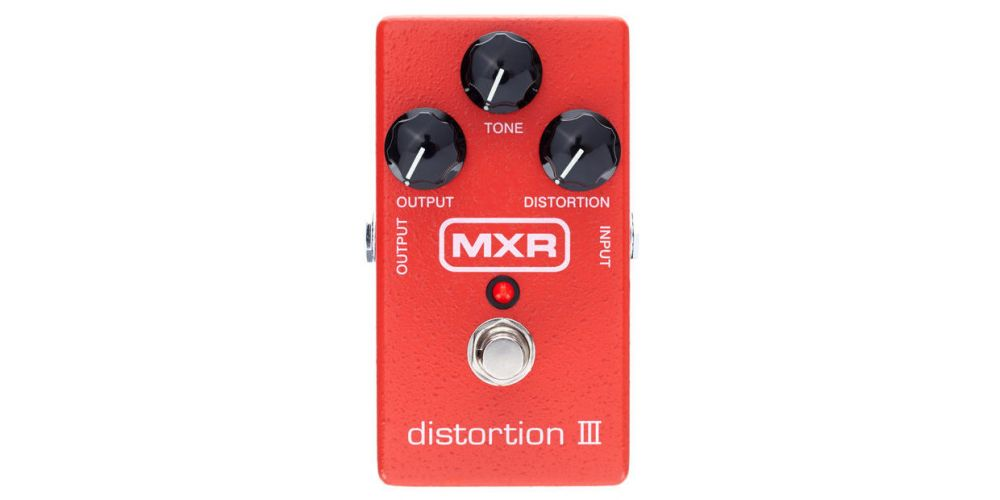 dunlop mxr m115 distortion iii front