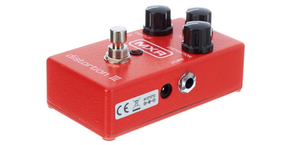 dunlop mxr m115 distortion iii lateral