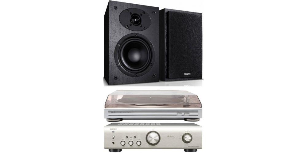 denon pma520 silver amplificador