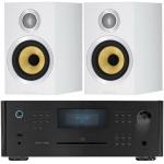 ROTEL RCX1500 Black+B&W CM1S2 White