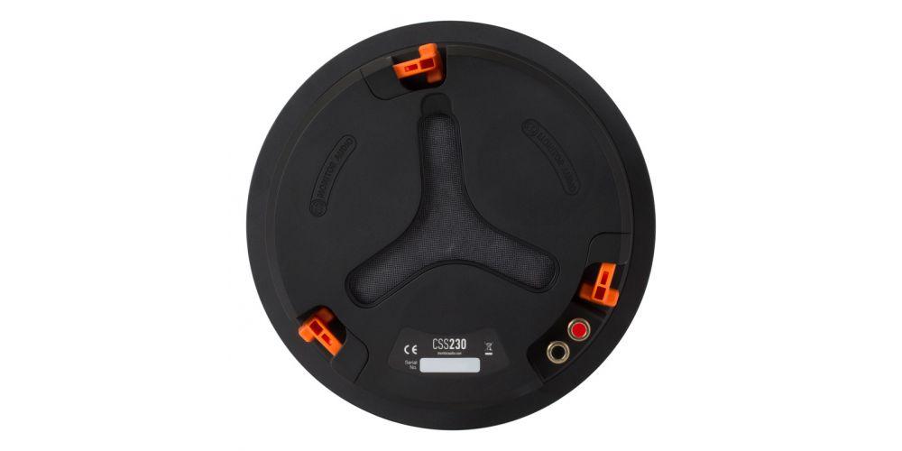 monitor audio css230 trasera