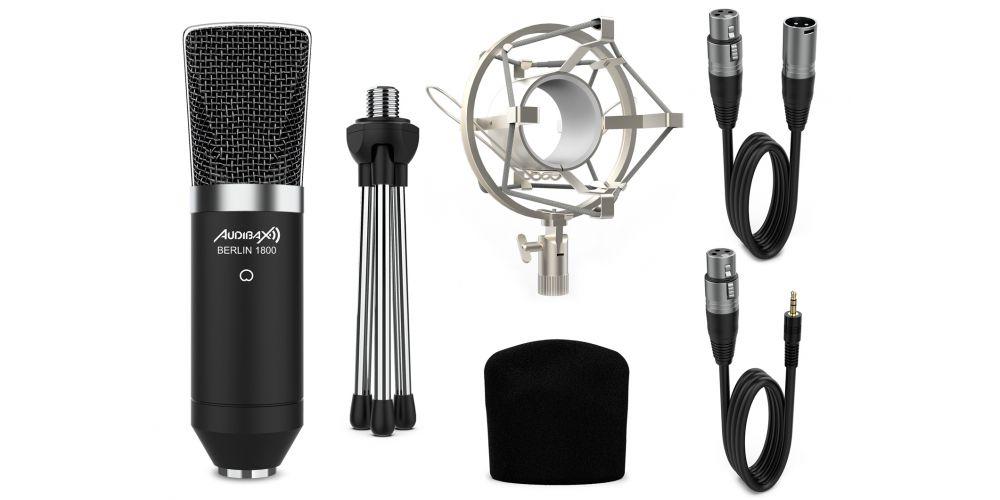 audibax berlin1800 microfono accesorios