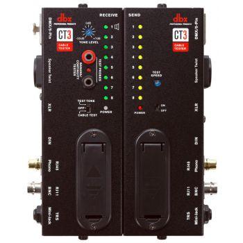 DBX CT3 Comprobador avanzado de cables