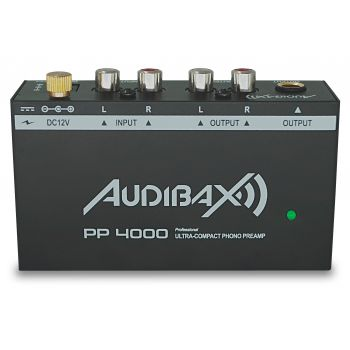Audibax PP4000 Previo Phono RIAA. Interruptor ON/OFF ( REACONDICIONADO )