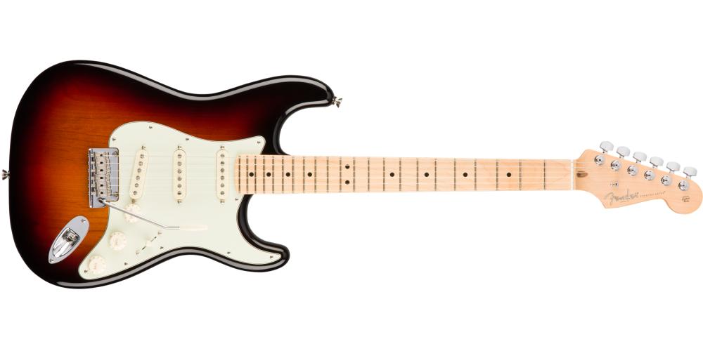 Fender American Pro Stratocaster®, Maple Fingerboard, 3 C