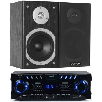 Equipo Hifi Audibax ZERO 1000 + Fenton SHFB55B Conjunto Audio