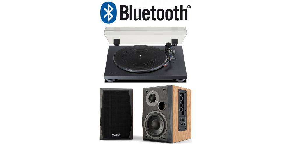 teac tn180 giradiscos bluetooth wiibo neo 50 altavoz bluetooth potente conjunto sonido