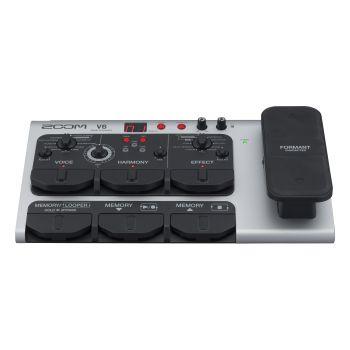 Zoom  V6 Procesador de Efectos con Micrófono