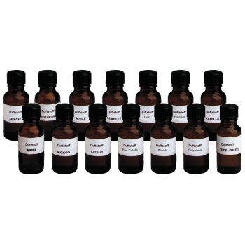 Eurolite Fog Fragrance Set with all 14 Types Conjunto de Fragancias para Humo