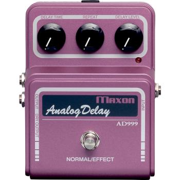 Maxon AD-999 Analog Delay Pedal Efectos Guitarra
