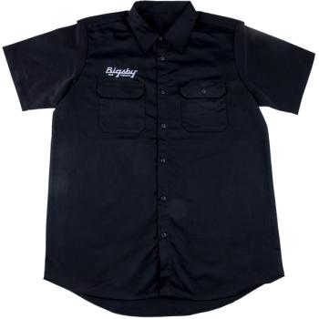 Bigsby Camisa True Vibrato Black Talla S
