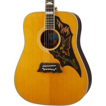 Epiphone Masterbilt Excellente Antique Natural Aged Gloss Guitarra Electro/acústica