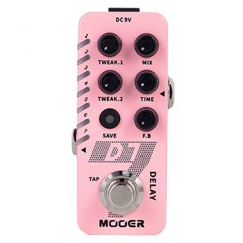 Mooer D7 Delay Pedal de Efectos