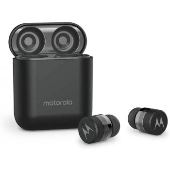 Motorola VerveBuds 110. Auriculares Bluetooth con caja de carga. Compatible Siri y Alexa y Google