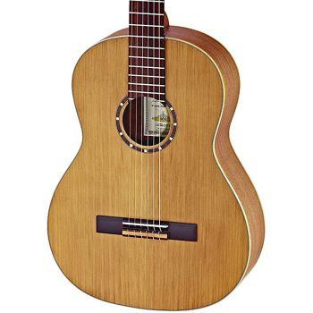 Ortega R122L Guitarra Clásica para Zurdo Family 4/4 Natural