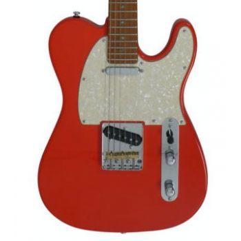 Larry Carlton by Sire T7 Guitarra Eléctrica Fiesta Red