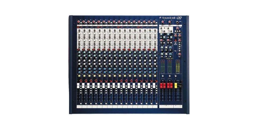 SOUNDCRAFT LX7 16 II  Mesa directo LX7-16II