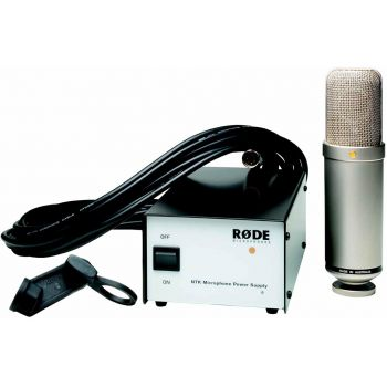 Rode NTK Micrófono de gran diafragma a válvulas