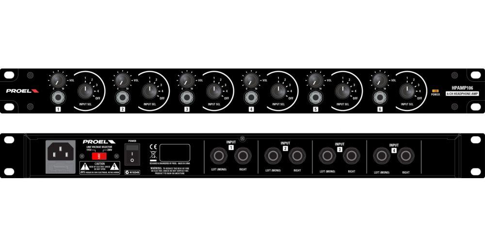 PROEL HP AMP106