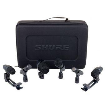 SHURE PGA DRUM KIT6 Juego de micrófonos para estudio