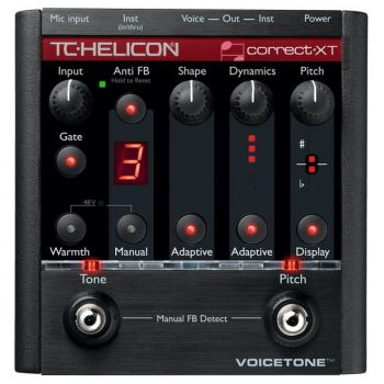 TC Helicon VoiceTone Correct XT Procesador