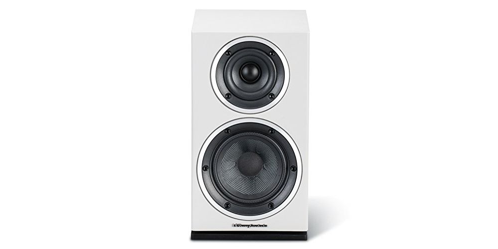 wharfedale diamond 210 speakers white pair 2 vias sonido ingles 2 vias blanco