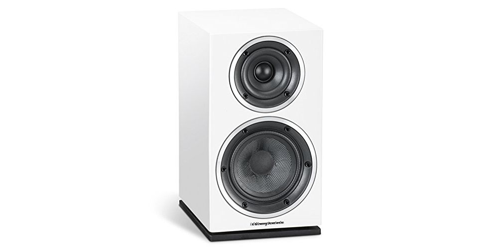 wharfedale diamond 210 speakers white pair 2 vias sonido ingles