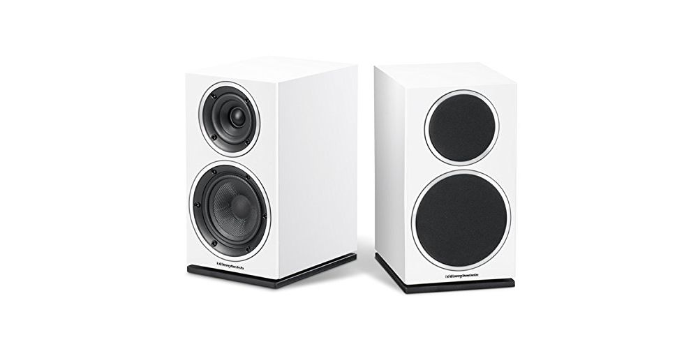 wharfedale diamond 220 speakers white pair 2 vias