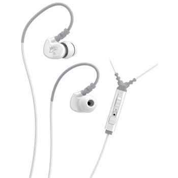 Mee Audio M6P Blanco Auriculares deportivos In Ear con control