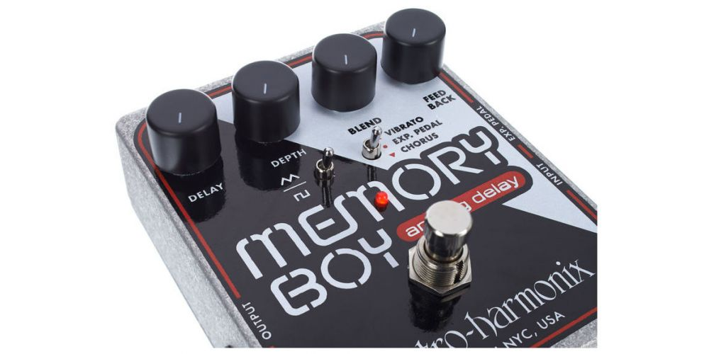 elektro harmonix memory boy controles