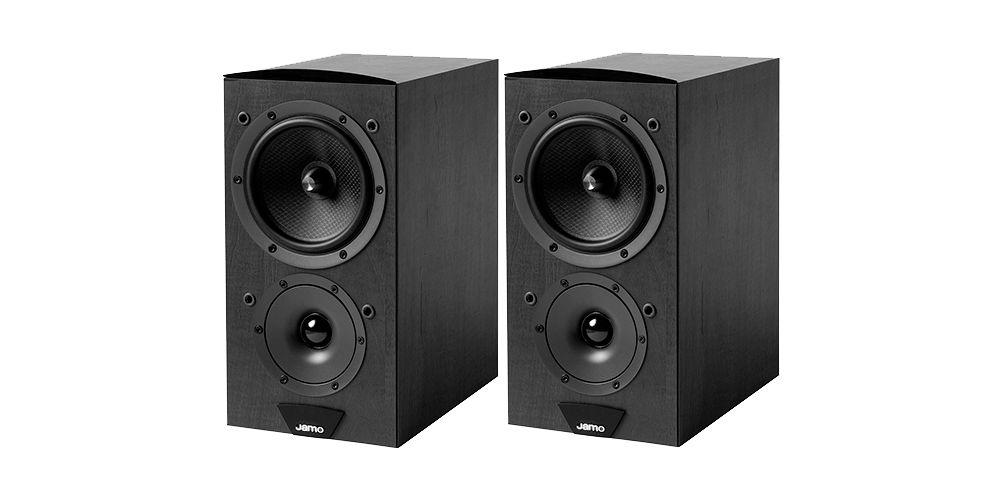 jamo c603 black altavoces 2vias bass reflex
