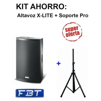 FBT X-LITE 15A Altavoz Activo 1000 W + Soporte