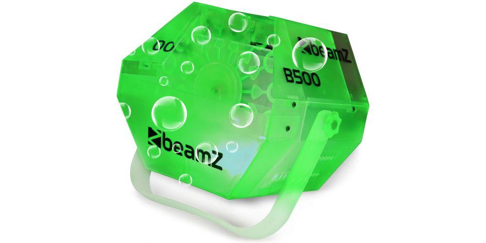 comprar Maquina burbujas con LED RGB Beamz B500LED