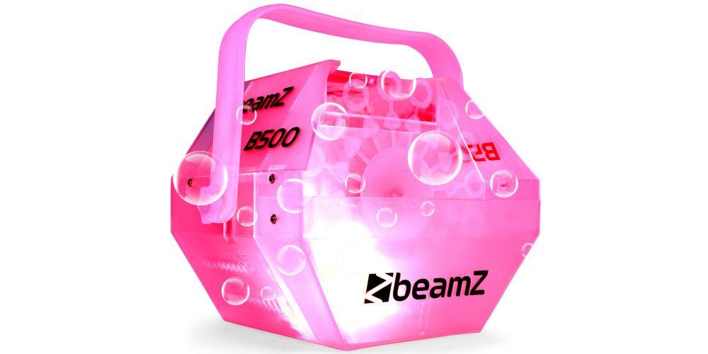 oferta Maquina burbujas con LED RGB Beamz B500LED