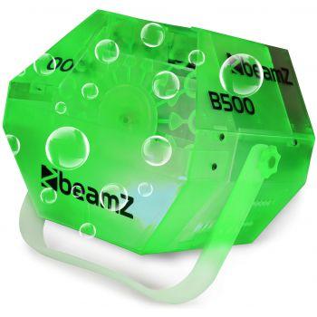 Beamz B500 LED Maquina de burbujas mediana con LED RGB 160572
