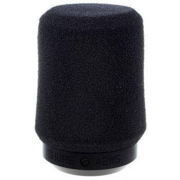 SHURE A2WS Paravientos para Microfono con Fijacion de Seguridad Negro