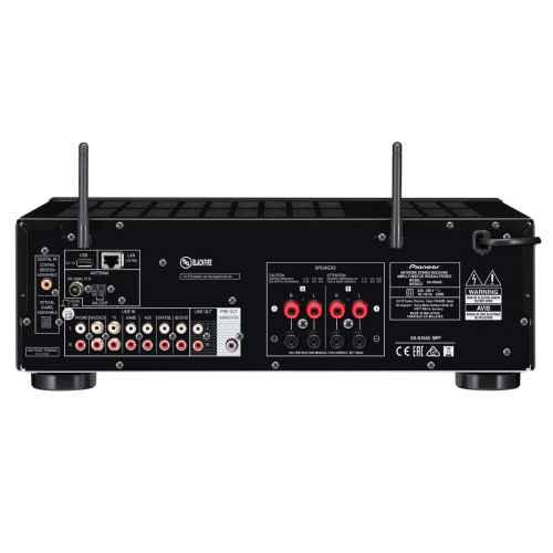 pioneer SX N30AE black receptor red