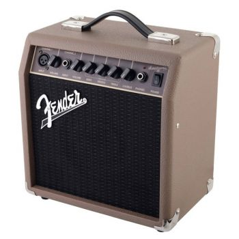 Fender Acoustasonic 15 Amplificador Guitarra Acústica ( REACONDICIONADO )