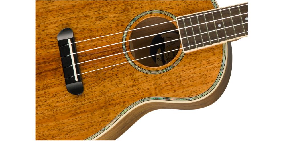 fender montecito tenor natural cuerdas