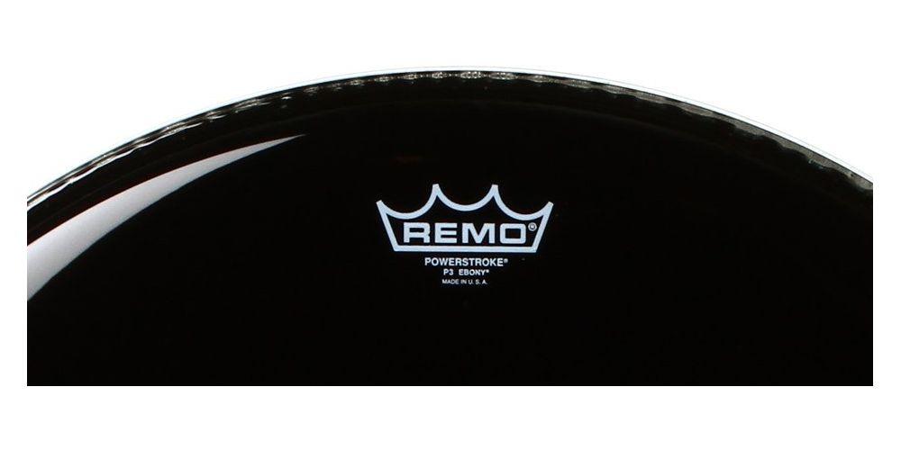 remo powerstroke 3 ebony bombo 18